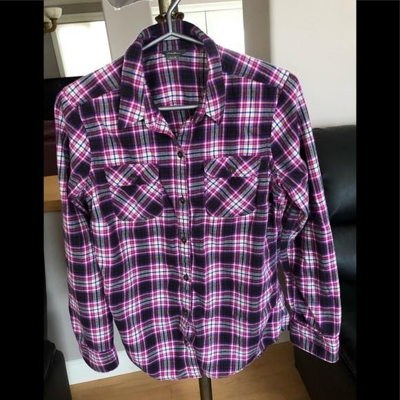 Eddie Bauer Women's Flannel Shirt, EUC, Medium.